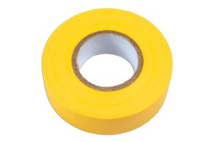 Connect 36895 Yellow PVC Insulation Tape 19mm x 20m Pk 1